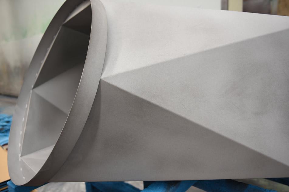 Mikra realiza Granallado de piezas de grandes dimensiones